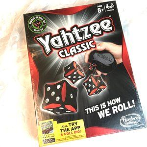 NWT New Old Stock 2012  Yahtzee Dice Game
